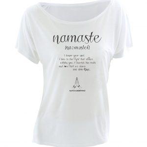 Yoga T-Shirt Namaste Love